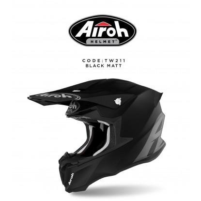 AIROH TWIST 2.0 NERO OPACO